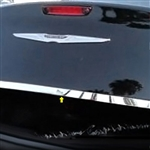 Chrysler 300 Chrome Trunk Trim, 2011, 2012, 2013, 2014, 2015
