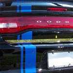 Dodge Charger Chrome Rear Deck Trim, 2011, 2012, 2013, 2014, 2015, 2016, 2017, 2018, 2019, 2020, 2021