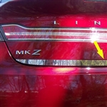 Lincoln MKZ Chrome Trunk Lid Trim, 2013, 2014, 2015, 2016, 2017, 2018, 2019, 2020