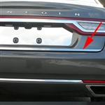 Lincoln Continental Chrome Rear Deck Trunk Trim, 2017, 2018, 2019, 2020
