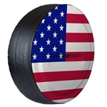 Jeep Wrangler Rigid American Flag Tire Cover