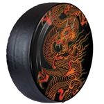 Jeep Wrangler Rigid Dragon Tire Cover