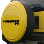 Hummer H2 Color Match Rigid Spare Tire Cover, 2002, 2003, 2004
