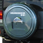 Hummer H2 Color Match Rigid Spare Tire Cover, 2005, 2006, 2007, 2008, 2009