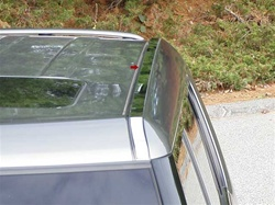 Kia Soul Chrome Roof Insert Trim, 2pc 2010 - 2013