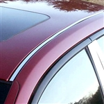 Cadillac CTS Chrome Roof Insert Trim, 2003, 2004, 2005, 2006, 2007
