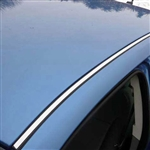 Chrysler Sebring 2 Piece Chrome Roof Insert Trim, 2pc 2007, 2008