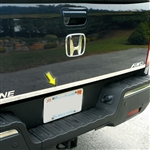 Honda Ridgeline Chrome Rear Tailgate Trim, 2017, 2018, 2019, 2020