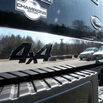 Ford F150 Chrome Tailgate Trim with 4x4 cut-out, 2004, 2005, 2006, 2007, 2008, 2009, 2010, 2011, 2012, 2013, 2014