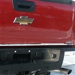Chevrolet Silverado Chrome Tailgate Trim, 2007, 2008, 2009, 2010, 2011, 2012, 2013