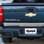 Chevrolet Colorado Chrome Tailgate Trim, 2015, 2016, 2017, 2018, 2019, 2020