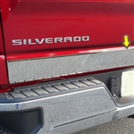 Chevrolet Silverado Chrome Tailgate Accent Trim, 2019, 2020