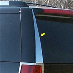 Cadillac Escalade Chrome Rear Window Trim, 2pc. Set, 2007, 2008, 2009, 2010, 2011, 2012, 2013, 2014
