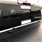 Chevrolet Silverado Rear Window Accent Trim, 2019, 2020