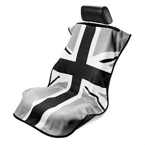 mini cooper british flag towel seat protector. Black Bedroom Furniture Sets. Home Design Ideas