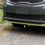 Kia Optima Chrome Front Air Dam | Spoiler Trim, 2011, 2012, 2013, 2014, 2015