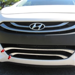 Hyundai Elantra GT Chrome Lower Grille Accent Trim, 2013, 2014, 2015
