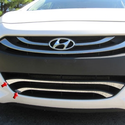 Hyundai Elantra Gt Chrome Lower Grille Accent Trim 2013