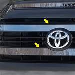 Toyota Tundra Chrome Grille Accent Trim, 2014, 2015, 2016, 2017, 2018, 2019, 2020