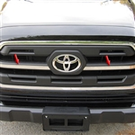 Toyota Tacoma Chrome Grille Accent Trim, 2016, 2017, 2018, 2019, 2020