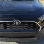 Toyota Rav4 Chrome Grille Accent Trim, 2019, 2020