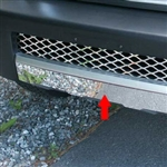 Toyota FJ Cruiser Chrome Lower Grille Accent Trim, 2007, 2008, 2009, 2010, 2011, 2012, 2013, 2014