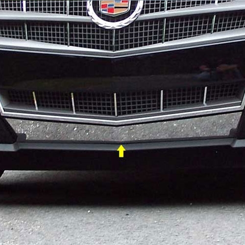 Cadillac CTS Coupe Chrome Lower Grille Accent Trim, 2011