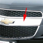 Chevrolet Equinox Chrome Grille Accent, 2010, 2011, 2012, 2013, 2014, 2015