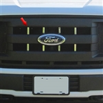 Ford F150 Chrome Grille Accent Trim, 2015, 2016