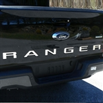 Ford Ranger Tailgate Chrome Letter Set, 2019
