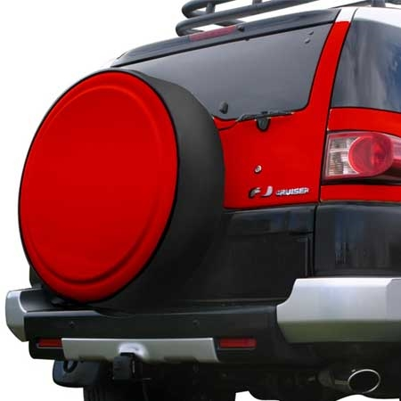 Toyota Fj Cruiser Painted Rigid Spare Tire Cover With