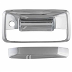 Chevrolet Silverado Chrome Tailgate Handle Cover, 2014, 2015, 2016, 2017, 2018
