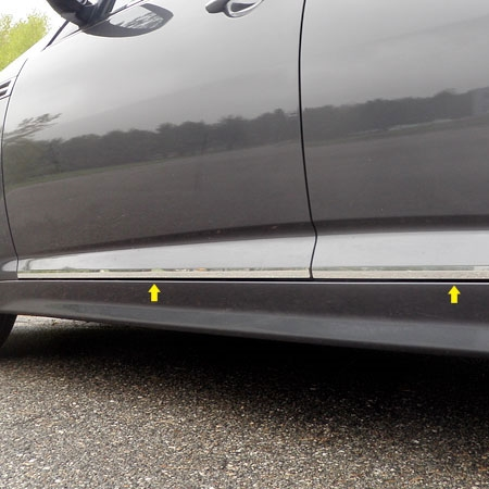 Kia Optima Chrome Rocker Panel Trim 2011 2012 2013