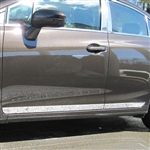 Honda Civic Sedan Chrome Lower Door Rocker Panel Trim, 2012, 2013, 2014, 2015