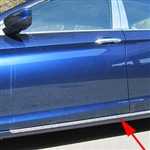 Honda Accord Sedan Rocker Panel Trim (below door), 2016, 2017