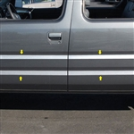 Honda Ridgeline Chrome Rocker Panel Set, 2006, 2007, 2008, 2009, 2010, 2011, 2012