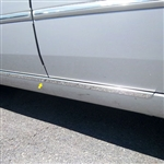 Hyundai Sonata Chrome Rocker Panel Trim, 2006, 2007, 2008, 2009, 2010