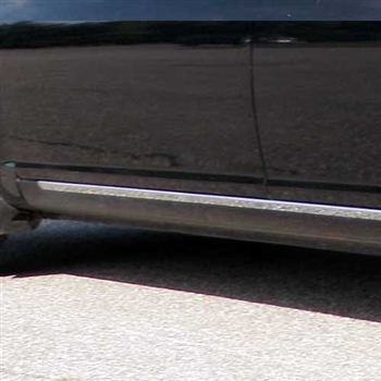 Hyundai Accent Chrome Lower Side Accent Trim, 2006, 2007, 2008, 2009, 2010, 2011