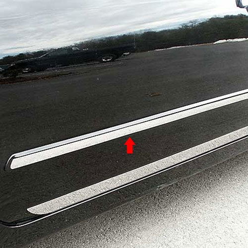 Nissan Altima Sedan Chrome Door Molding Trim 2007 2008