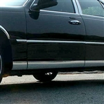 Lincoln Town Car Chrome Rocker Panel Set, 8pc 1998, 1999, 2000, 2001, 2002, 2003, 2004, 2005, 2006, 2007, 2008, 2009, 2010, 2011
