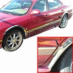 Buick Lesabre Chrome Side Molding Trim, 8pc  2000, 2001, 2002, 2003, 2004, 2005