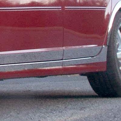 Cadillac Cts Chrome Rocker Panel Trim 2003 2004 2005