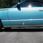 Ford Thunderbird Chrome Rocker Panel Trim, 4pc  2002, 2003, 2004, 2005, 2006