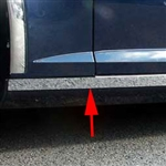 Cadillac STS Chrome Rocker Panel Trim, 2005, 2006, 2007, 2008, 2009, 2010, 2011