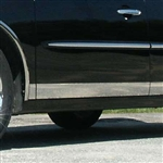 Buick LaCrosse Chrome Rocker Panel Trim, 2005, 2006, 2007, 2008, 2009