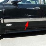 Chevrolet Impala Upper Chrome Rocker Panel Set, 2006, 2007, 2008, 2009, 2010, 2011, 2012, 2013