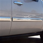 Chevrolet Tahoe Chrome Door Molding Trim, 2007, 2008