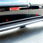 GMC Yukon Chrome Rocker Panel Trim, 2007, 2008, 2009, 2010, 2011, 2012, 2013, 2014