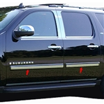 Chevrolet Avalanche Chrome Rocker Panel Set, 2007, 2008