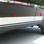 Dodge Nitro Chrome Rocker Panel Trim, 6pc 2007, 2008, 2009, 2010. 2011